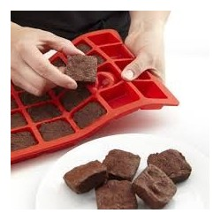 stampo 24pz. silicone mini brownies