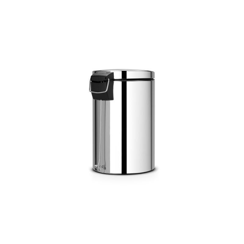 Pattumiera Pedal Bin Silent 12L, anti-impronte Inox Satinato FPP 478161