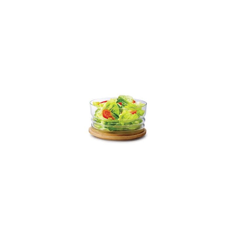Campana formaggio vetro 20,5cm. Continenta