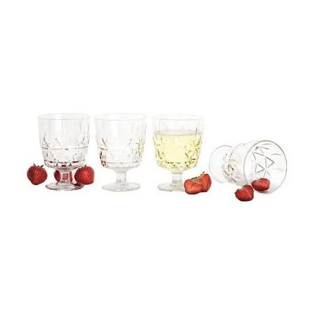 Bicchiere pic nic 4 pz. acrile Sagaform