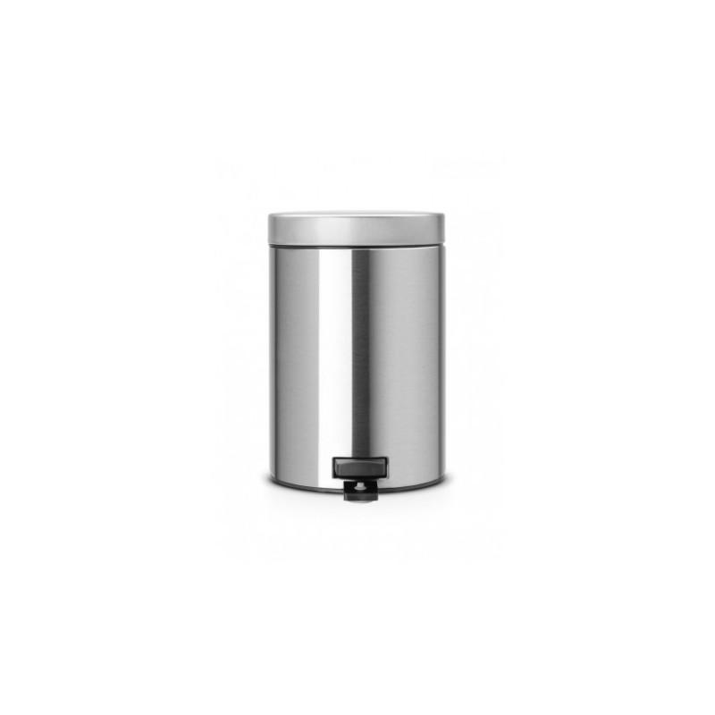 Pattumiera Pedal Bin Classic 3L, anti-impronte Inox Satinato FPP 369520
