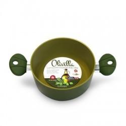 Casseruola olivilla 24cm 2 manici