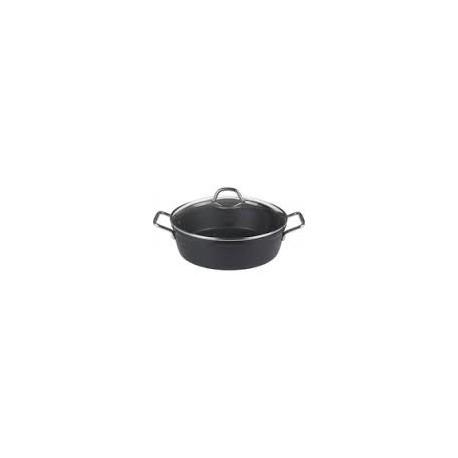padella 2 manici black 24cm