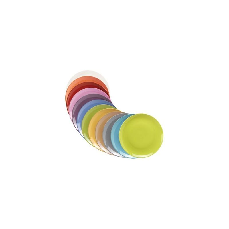 tazzina caffè c/piattino colours