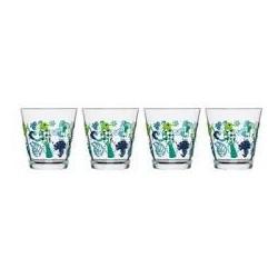 bicchieri acqua fantasy x 4pz.